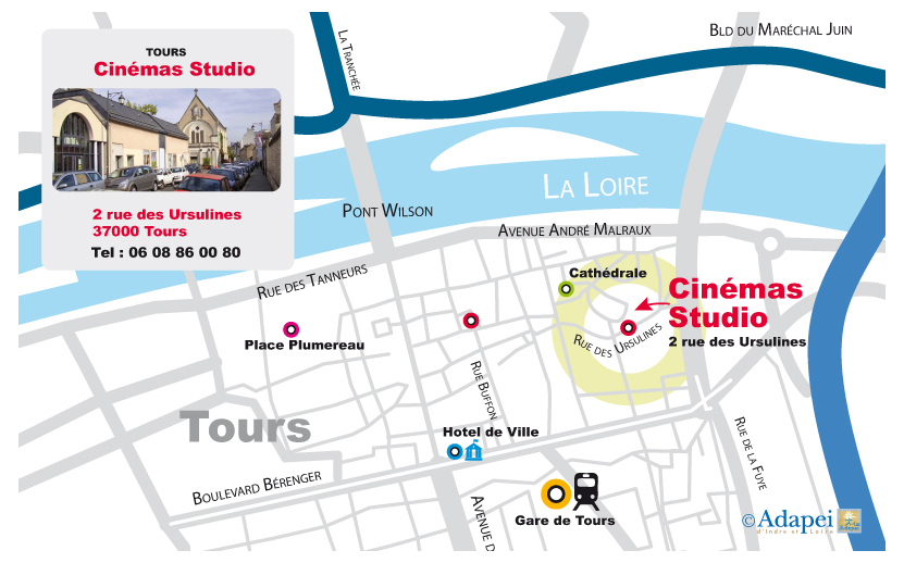 CINEMA STUDIO_Plan LALM-Tours